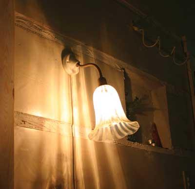 照明パーツ HS434【アクシス/Homestead】ホームステッド セラミックブラケット 灯具のみ E-17用■【送料無料】
