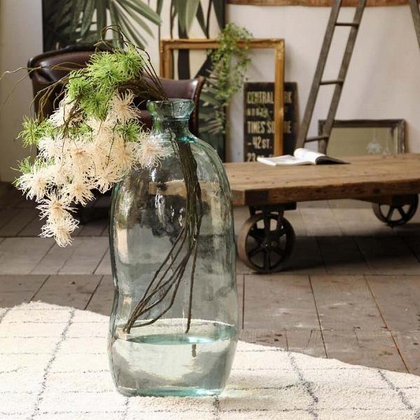 テラリウム UNO クリア リサイクルガラス 花瓶 多肉植物 バレンシア VALENCIA VGGN1010 フラワーベース/木/花/フラワー/フラワーグラス/花瓶 ガラス/ガラスベース/シンプル/おしゃれ 置物/北欧/花器/インテリア雑貨/インテリア