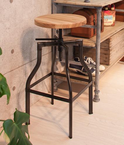 グリッド カウンタースツール おしゃれ シンプル キッチンスツール カフェバー スツール 椅子 イス いす【送料無料】