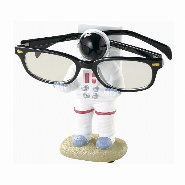 メガネ置き めがね置き 眼鏡置き 眼鏡 メガネ めがね 未使用 収納 ケース メガネスタンド アストロノーツ かっこいい めがねスタンド 宇宙飛行士 品質保証 男前 雑貨 SR-1093 セトクラフト インテリア おしゃれ