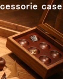 ウォールナット アクセサリーケース SS 木製 ラルース La Luz ジュエルボックス ショーケース ジュエリーケース ジュエリーボックス アクセサリーボックス コレクションケース コレクションボックス 硝子 ガラス ウォールナット 木製フレーム 木フレーム 収納