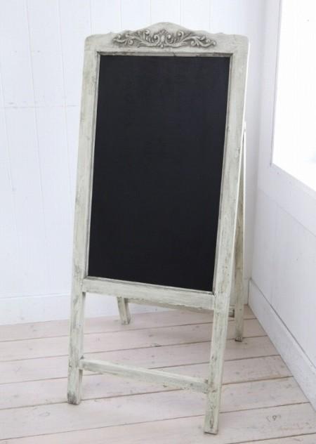 アンティーク風 フレーム・ブラックボード 【COVENT GARDEN コベントガーデン】 ブラックボード 黒板 コクバン 掲示用品【送料無料】 IX-51