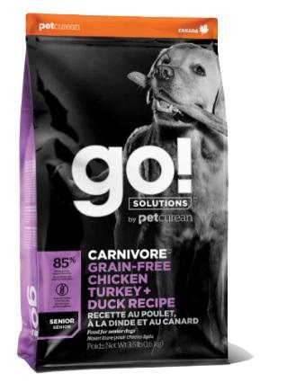 GO! カーボニア チキンターキー+ダックシニア9.98kgゴー 正規品 ドッグフード ペットフード ドライフード 穀物不使用
