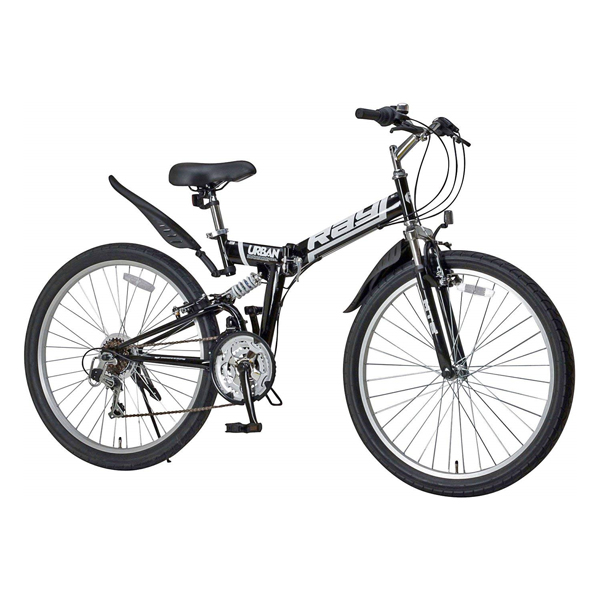 (送料無料) RAYCHELL(レイチェル) マウンテンバイク MTB-2618RR 26インチMTB シマノ18段変速 Wサスペンション 街乗り特化自転車