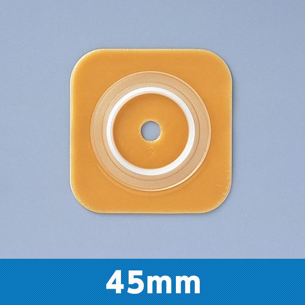 バリケア ナチュラ フランジ 00252 45mm ストーマサイズ23~30mm 1箱5枚 コンバテック【返品不可】