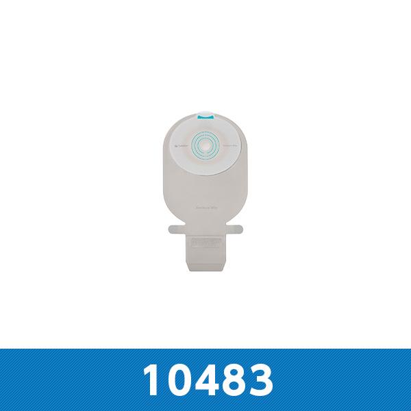 センシュラ ミオ1 10483 プレカット 開口部径30mm 面板大きさ95x115mm 1箱10枚 コロプラスト【返品不可】