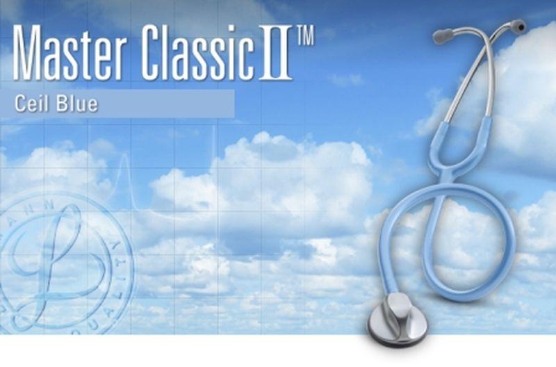 【正規品】 リットマン 聴診器 マスタークラシック2 2633 セイルブルー 3M スリーエムヘルスケア【条件付返品可】