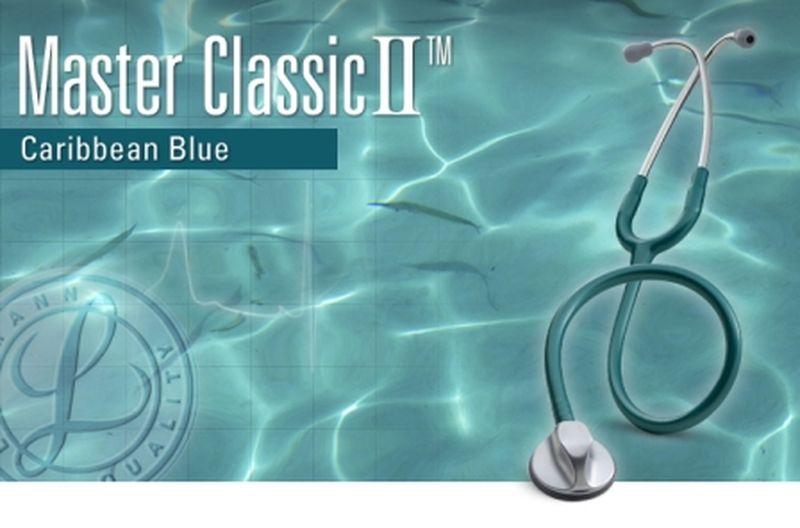 【正規品】 リットマン 聴診器 マスタークラシック2 2630 カリビアンブルー 3M スリーエムヘルスケア【条件付返品可】