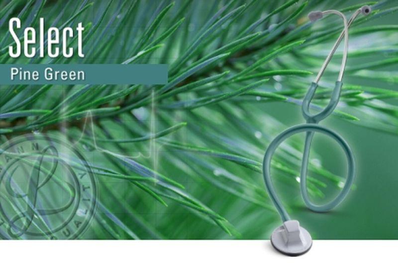 【正規品】【聴診器】リットマン ステソスコープ セレクト 2305 パイングリーン 3M スリーエムヘルスケア【条件付返品可】