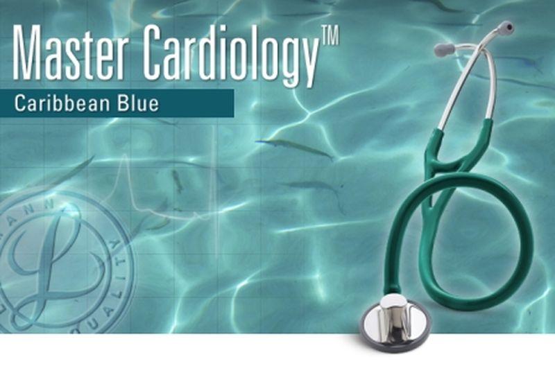 【正規品】 リットマン 聴診器 マスターカーディオロジー 2178 カリビアンブルー 3M スリーエムヘルスケア【条件付返品可】