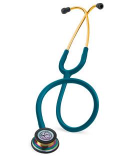 【正規品】 リットマン 聴診器 クラシックIII 5807 カリビアンブルー(チェストピースレインボウ加工) クラシック3 3M スリーエムヘルスケア【条件付返品可】