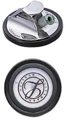 リットマン チェストピース マスターカーディオロジー用 98597 ブラック(ステンレス) 1個 3M スリーエムヘルスケア【キャンセル・返品不可】