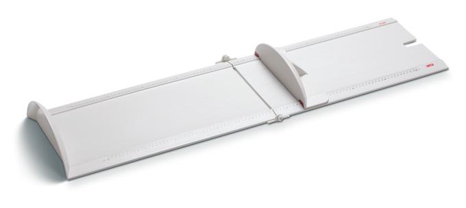 seca 417 折りたたみ式ベビーボード 乳児身長計 使用範囲10~100cm サイズW1110xH115xD333mm 1枚【条件付返品可】