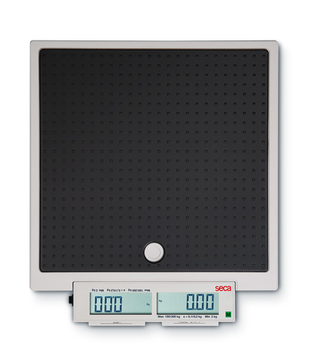 seca 878 デジタルフラットスケール [検定付] 最大荷重200kg サイズW321xH61xD362mm 重量4.1kg 1台 【キャンセル・返品不可】