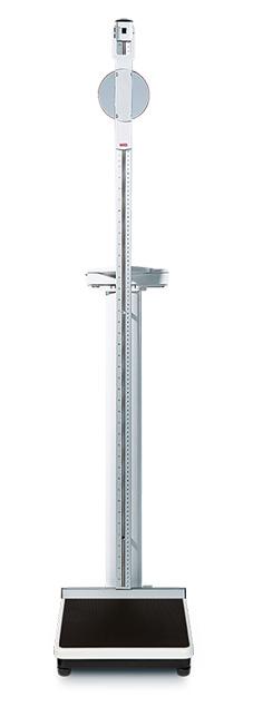 seca 799 S 身長計付デジタルコラムスケール [検定付] 最大荷重200kg サイズW294xH1400xD417mm 1台 【キャンセル・返品不可】