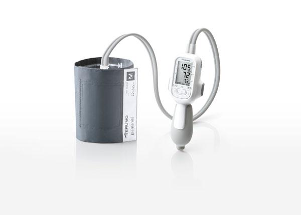 テルモ電子血圧計 エレマーノ2 ES-H56 データ通信機能なし 1台 テルモ【条件付返品可】