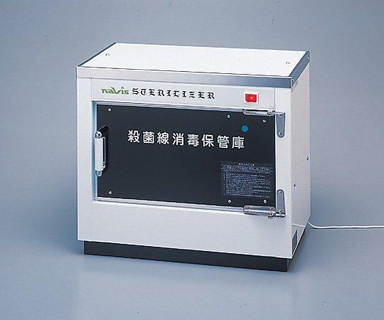 殺菌線消毒保管庫 427x246x372mm DM-5 1台【条件付返品可】