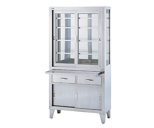 器械戸棚 900x360x1750mm SKN-90 1台 【大型商品】【同梱不可】【代引不可】【キャンセル・返品不可】