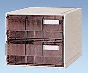 カセッター A3タイプ(引出2段)アンバー HA3-002 1個【条件付返品可】