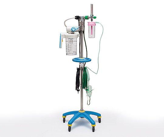 酸素吸入・吸引スタンド OVH-1000P型 ピン方式(川重型) 1台【キャンセル・返品不可】