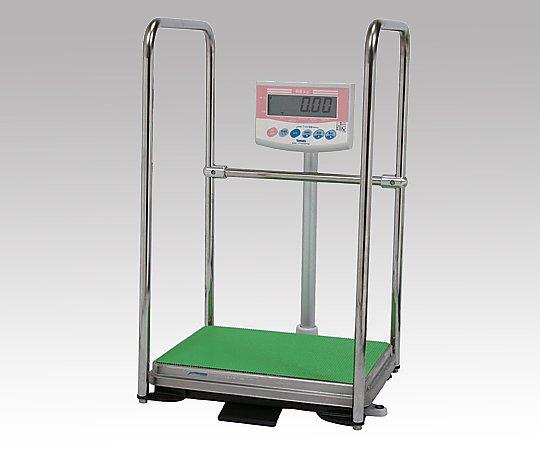 デジタル体重計[検定付]DP-7101PW-T 手すり付き 1台 【返品不可】
