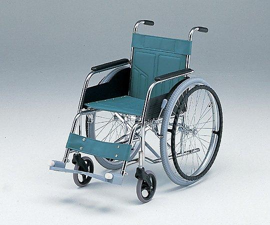 車椅子 (自走式/スチール製/スタンダードタイプ) ATY-1 1台 【大型商品】【同梱不可】【代引不可】【キャンセル・返品不可】