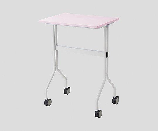 ワークテーブル ピンク カゴ付き 645x445x900mm TT-NS20M ピンク 1台 【大型商品】【同梱不可】【代引不可】【キャンセル・返品不可】