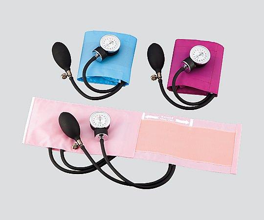 アネロイド血圧計[ラテックスフリー] FC-100V ナイロン・マゼンタ 1個【条件付返品可】