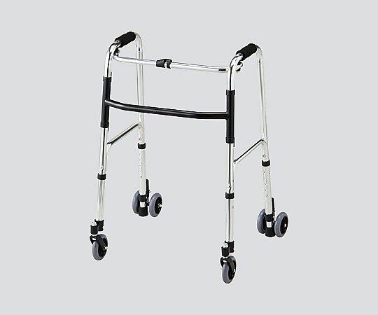 歩行器 (4輪キャスター付き) NHK-4C 1台 【大型商品】【同梱不可】【代引不可】【キャンセル・返品不可】