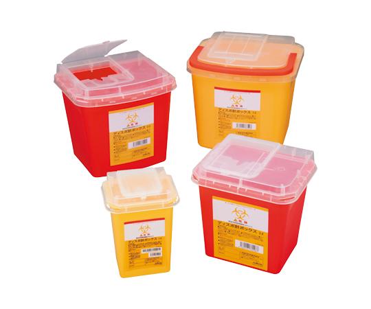 ディスポ針ボックス 黄色3L 1ケース(48個入り)【条件付返品可】
