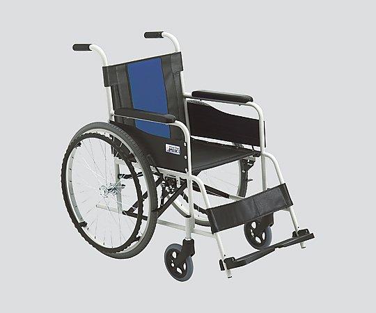 車いす (自走式/スチール製/ノーパンクタイヤ) FE-3 1台 【大型商品】【同梱不可】【代引不可】【キャンセル・返品不可】