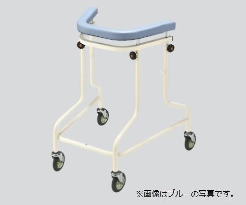 らくらくあるくん(ネスティング歩行器) ブルー Rkun-SBL 1個【大型商品】【後払不可】【同梱不可】【返品不可】