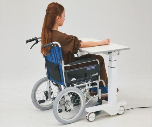 電動昇降採血台(車椅子対応) 800x500x638~1288 ET-800B 1個 【大型商品】【後払不可】【同梱不可】【返品不可】