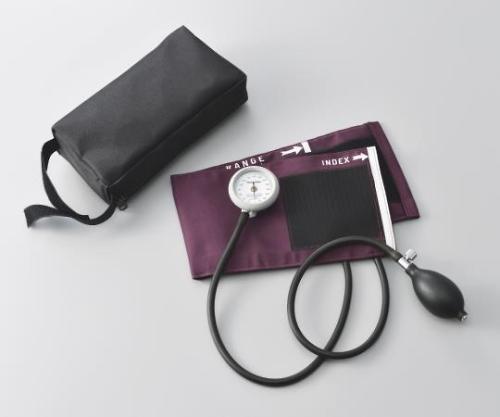 バイタルナビ血圧計(プレミアムコットンカフ) VIP-e 1個 ナビス アズワン【条件付返品可】
