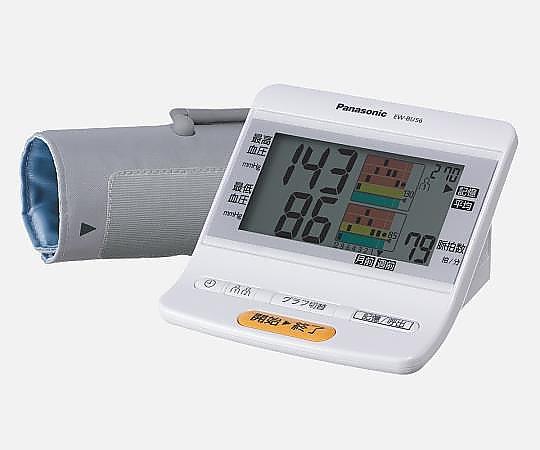 上腕血圧計 (メモリ2人分x270回) EW-BU56-W 1台【条件付返品可】