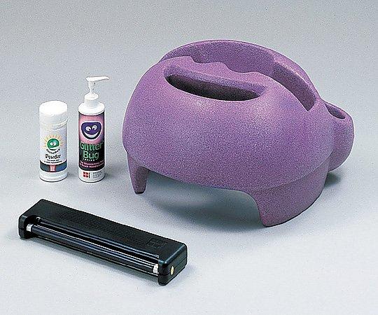 手洗い評価キット(グリッターバグ) 専用ランプ・ケースセット(1式) 1式【条件付返品可】