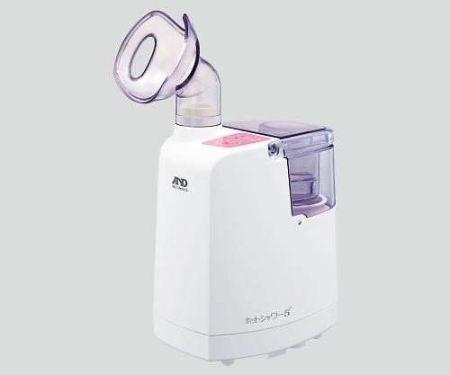 超音波温熱吸入器(ホットシャワー5) ピンク UN-135A-JC1 1個 エー・アンド・デイ【条件付返品可】