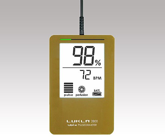 パルスオキシメーター LUKLA2800 ピンク LKL2800m/PK 1個【条件付返品可】