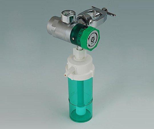 ダイヤル式減圧弁 D-Y15H ヨーク型加湿瓶付 1個【条件付返品可】