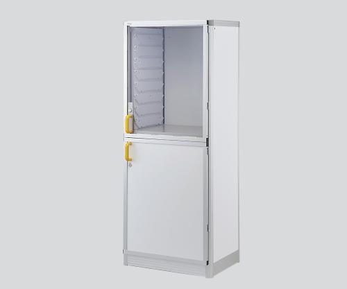 アルティア 材料キャビネット(開き扉2枚) 窓あり MC-DW2L0 1個【条件付返品可】