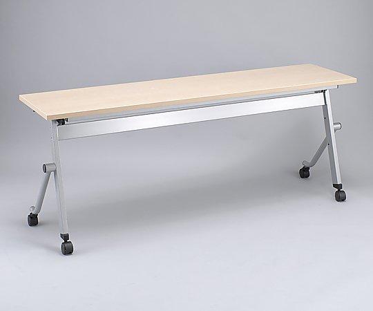 スタックテーブル 平行 1800x600x700mm 木目 KR-T-1860T 1台 【大型商品】【同梱不可】【代引不可】【キャンセル・返品不可】