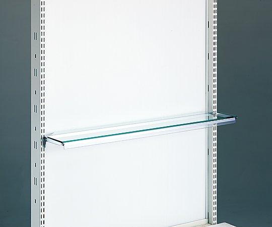 MD調剤台 ガラス棚板セット 900x150mm 1セット(4枚入り)【条件付返品可】