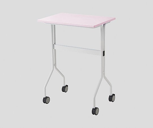 ワークテーブル ピンク カゴ無し 645x445x900mm TT-NS20 ピンク 1台 【大型商品】【同梱不可】【代引不可】【キャンセル・返品不可】