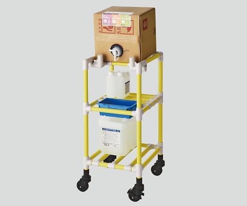 キュービテナーカート(抗菌防カビイレクター(R)) イエロー FSQBC-Y 1個【条件付返品可】