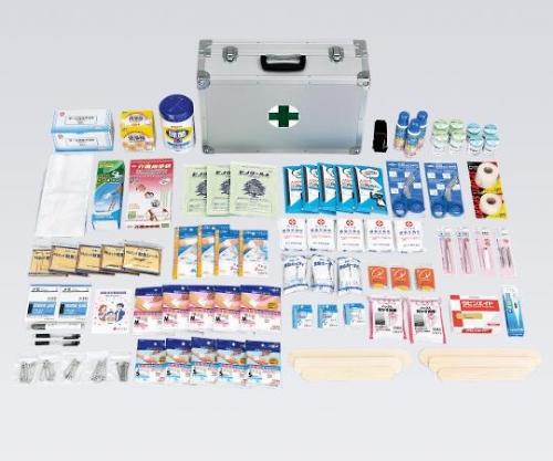 災害多人数用救急箱(約50人用) 525x350x200 7247306 1セット【返品不可】