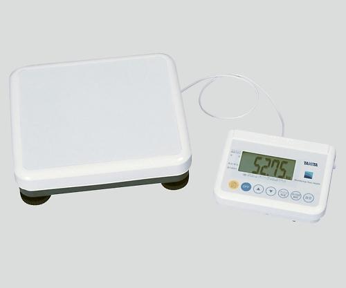 精密体重計[検定付]セパレートタイプ RS-232Cポート付き WB-150 1個 【返品不可】