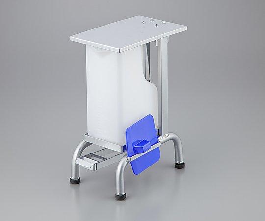 貯尿用足踏みスタンド 貯尿器用 150x280x350mm 1個【条件付返品可】