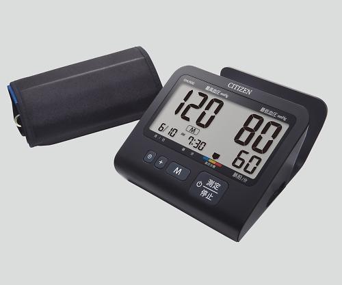 電子血圧計(上腕式) 本体(ACアダプター付属) CHU502-BK 1箱【条件付返品可】
