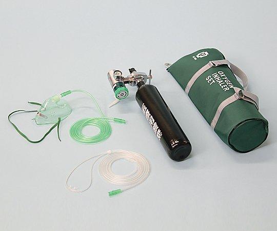 携帯用酸素吸入器 OX-100DX 30分用(流量調整式) 1式【条件付返品可】