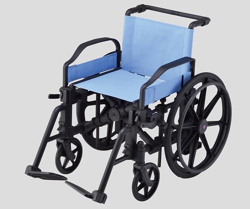 車椅子(樹脂製) 100kg PWC-07 1個 【大型商品】【同梱不可】【代引不可】【キャンセル・返品不可】